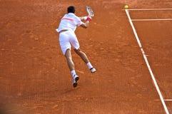 Maître 3 de Djokovic Monte Carlo Rolex photographie stock