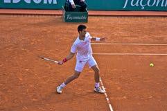 Maître 8 de Djokovic Monte Carlo Rolex Photographie stock libre de droits