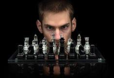 Maître d'échecs Photo stock