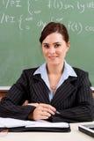 Maître d'école féminin Images stock
