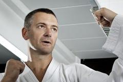 Maître d'arts martiaux photographie stock