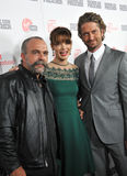 Maître d'hôtel de Gerard, Michelle Monaghan, Sam Childers Photo libre de droits