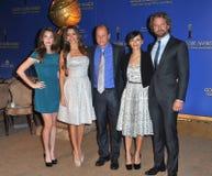 Maître d'hôtel de Gerard, Woody Harrelson, Rainey Qualley, Sofia Vergara Images stock
