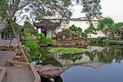 Maître du jardin net à Suzhou, Chine Photos stock