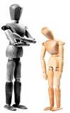 Maître et esclave photos stock
