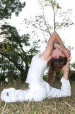 Maître femelle de yoga Image stock