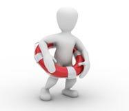 Maître nageur Image stock