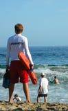 Maître nageur Photos stock