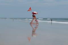 Maître nageur de plage Photo libre de droits
