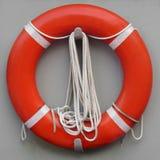Maître nageur orange rond Image libre de droits