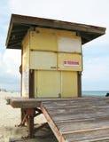 Maître nageur Stand Abandoned Images libres de droits