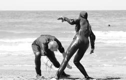 Maître nageur Training Photo stock