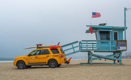 Maître nageur Venice Beach Photographie stock