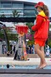 Maître nageurs australiens Photos stock