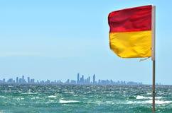 Maître nageurs australiens dans l'Australie de la Gold Coast Queensland Photographie stock