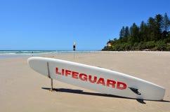 Maître nageurs australiens dans l'Australie de la Gold Coast Queensland Photos libres de droits