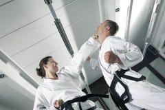 Maîtres d'arts martiaux images stock