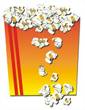 Maïs éclaté illustration stock