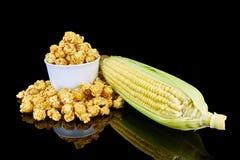 maïs éclaté délicieux Photographie stock libre de droits