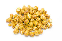 Maïs éclaté de caramel Image stock