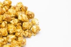 Maïs éclaté de caramel Photo stock