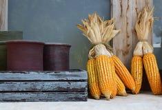 Maïs artificiel image libre de droits
