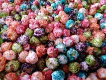 Maïs coloré de bouilloire photographie stock libre de droits