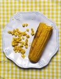 Maïs délicieux Photo libre de droits