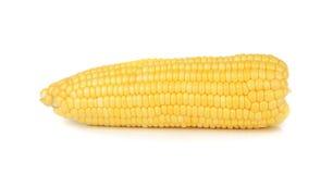 Maïs d'isolement sur le fond blanc Photos stock