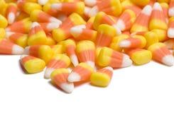 Maïs de sucrerie sur le blanc Photos stock