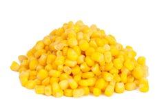 Maïs en boîte   Image libre de droits