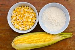 Maïs et amidon Photo stock