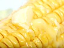 maïs et beurre Images stock