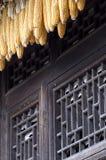 Maïs et l'hublot antique. photos libres de droits