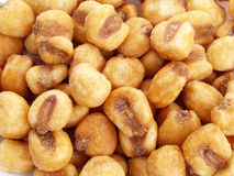 Maïs frit. Image libre de droits