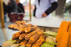 Maïs frit Image libre de droits