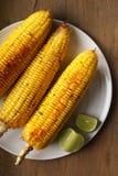 Maïs grillé par beurre de miel Photo stock