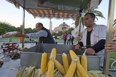 Maïs, Istanbul, Turquie photo libre de droits
