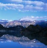 Mañana alrededor de la montaña Imagen de archivo libre de regalías