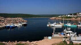 Mañana asoleada en el puerto de Neil Imagen de archivo libre de regalías