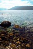 Mañana caliente soleada en la bahía de Boka Imagen de archivo libre de regalías