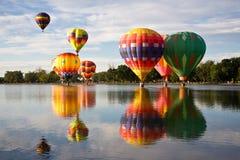 Mañana colorida Fotografía de archivo libre de regalías
