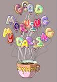 Mañana creativa del café Fotos de archivo libres de regalías