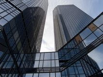 Mañana de Frankfurtâs Fotografía de archivo libre de regalías