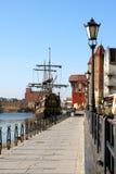 Mañana de Gdansk Fotos de archivo
