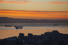 Mañana de la bahía de San Franciso Fotografía de archivo libre de regalías
