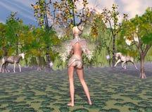 Mañana de la fantasía Imagen de archivo