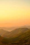Mañana de la montaña Imagen de archivo