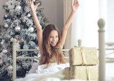 Mañana de la Navidad Imagen de archivo libre de regalías