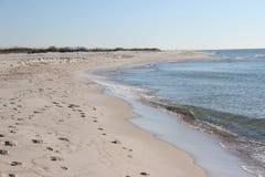Mañana de la playa Imagenes de archivo